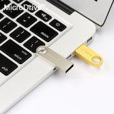 Neues des USB-2017 grelles Platte-Goldsilber Se9 Feder-Speicher-Stock-Schlüssel-Laufwerk-U
