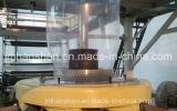 Máquina fundida máquina de sopro plástica da película para o saco de compra
