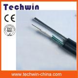 Кабель волокна кабеля GYTC8S оптического волокна режима кабеля стекловолокна Techwin одиночный напольный