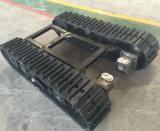 Piste en caoutchouc train d'atterrissage de 2 tonnes pour l'usage d'agriculture (type de 280mm)