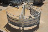 Bewegliches heißes eingetauchtes galvanisiertes Vieh-Yard-Stahlpanel
