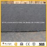 Telhas pretas/cinzentas/amarelas naturais da ardósia da pedra da cultura para pavimentar /Wall