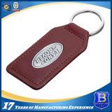 Cuoio su ordinazione Keychain della lega per la promozione (ELE-K096)