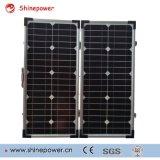 Складывая панель солнечных батарей для заряжателя телефона Mobille