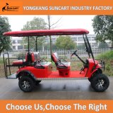 China 6 Sitzelektrische besichtigengolf-Karren mit Rücksitz 2 (RY-EZ-601A)