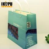 Sacos de papel do presente luxuoso da forma com alta qualidade