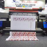 Xuli DTGプリンター- 1.8mフラグポリエステルファブリック旗のための衣服プリンターに直接2 Ep5113 (3PL)印字ヘッドの広いフォーマット
