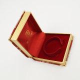 Cadre en cuir d'unité centrale de fournisseur de la Chine avec Linning en soie réel (J74-C)