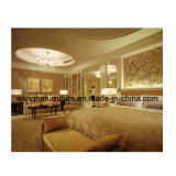 Mobília extravagante de madeira moderna do quarto do projeto novo