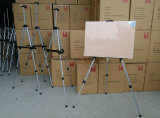 Trípode estante de exhibición de aleación de aluminio plegable