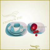 De nieuwe Met de hand geschilderde Ceramische Reeksen van het Diner 16PCS