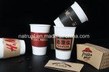Papel descartável Leite de chá Papel Titular / Evitar copos de papel quentes Conjunto de isolamento de papel Cup Make Cup