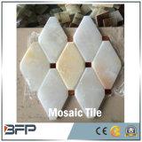 Mosaico de mármore de pedra natural da arte para a telha de assoalho do banheiro/cozinha