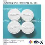 Travel Wet Wipes Compressed Coin Tissue