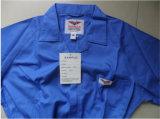 安く快適な綿のあや織りのWorkwear作業つなぎ服の顧客用ユニフォーム