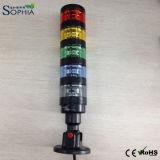 5 pilas del LED de la luz de indicador con resistente de agua IP67