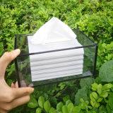 Rectángulo de acrílico del tejido del alto rectángulo transparente