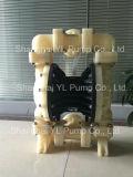 40mm doppelte MembranePolyproylene (Plastik) Pumpe für chemisches industrielles
