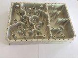 Capa de alumínio de usinagem CNC com anodização clara