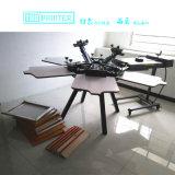 TMR6a 6は織物スクリーンの印字機を着色する