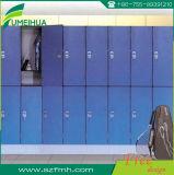 Armario incombustible azul del pie del bloqueo impermeable de RFID para el estudiante