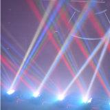 DMX512 8PCS 10W RGBW 4in1 LED Armkreuz-Träger-bewegliches helles Stadiums-Disco-Hauptlicht