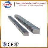 Estante y piñón de la alta calidad, estante del ranurador del CNC pequeños y piñones/engranajes para la venta