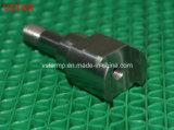 Часть соединения CNC подвергая механической обработке сделанная из нержавеющей стали в высокой точности