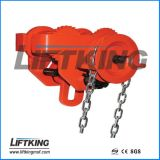 Carrello innestato del fascio per la gru, blocco Chain, gru elettrica