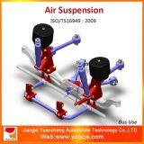 Sistema de suspensión certificado ISO9001 del omnibus de la amortiguación de aire con resorte de la fábrica de China