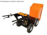O aço com galvaniza o carrinho de mão de roda Kt-MD300c da cubeta