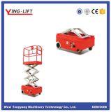 Mini type automoteur plate-forme de ciseaux de travail