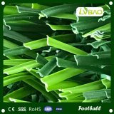 Hierba artificial del balompié barato al aire libre del PE de China