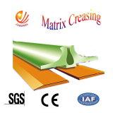 Die Cutter Creasing Matrix Indentation Modelo de velocidade de carregamento