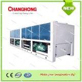 Zentrale Klimaanlagen-Luft abgekühlter Wasser-Schrauben-Kühler und Wärmepumpe