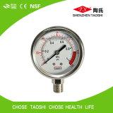 Medidor da pressão de Digitas da câmara de ar para o purificador da água do RO