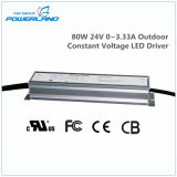 excitador constante impermeável ao ar livre do diodo emissor de luz da tensão de 80W 24V 0~3.33A
