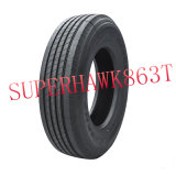 China-Marken-Gummireifen, niedrige Wärme Bauen-Uptbr Reifen auf (255/70r22.5)