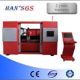 cortadora del laser del metal de la fibra de la placa 1000W-500W para el acero inoxidable del corte