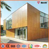 Comitato composito di alluminio di sembrare del legno di prezzi di fornitore di Ideabond Ae-301 (ACP) per la decorazione dell'interno ed esterna