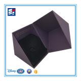 Caja de regalo de papel de lujo con la impresión de encargo de las ilustraciones