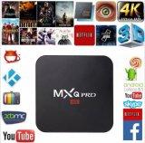 Red de alta definición de televisión HDTV 4k WiFi Android TV Box para la familia