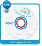 Blanc en gros DVD de prix usine de logo d'OEM du blanc DVD-R de Ronc