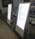 55 -プレーヤー、デジタル表記LCDデジタルのビデオプレーヤーの表示キオスクを広告するインチのショッピング記憶装置