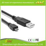 Rechtwinkliges Mikro-aufladenkabel USB-2A