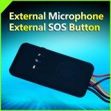 Perseguidor do GPS do veículo Cctr-829 com plataforma livre impermeável externa do microfone do alarme de choque & da tecla do SOS para a vida