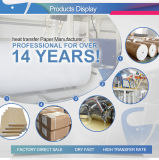 Бумага печатание передачи тепла сублимации Inkjet качества горячих новых продуктов самая лучшая для кожи