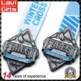 La promoción barata de encargo del metal del deporte Medallas con la cinta