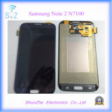 Экран касания LCD мобильного телефона на примечание 2 N7105 Samsung Note2