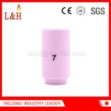 boquilla de cerámica del alúmina 13n11 compatible para el soplete de TIG